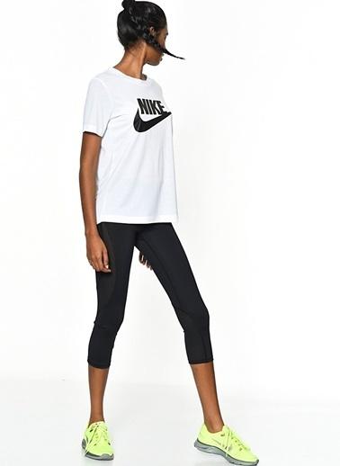 Nike Baskılı Tişört Beyaz